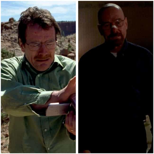 Bryan Cranston is listed (or ranked) 1 on the list How the Cast of Breaking Bad Aged from the First to Last Season