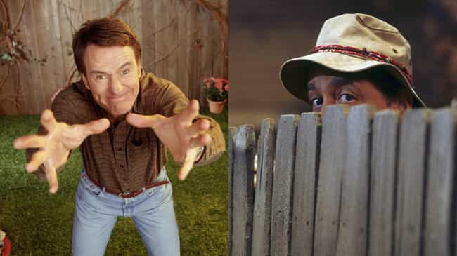 Bryan Cranston is listed (or ranked) 3 on the list How 'Home Improvement' Would Be Cast If It Aired Today
