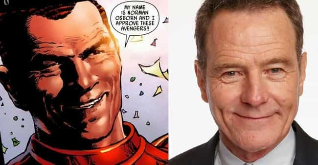 Bryan Cranston is listed (or ranked) 3 on the list Who Should Be in a Miles Morales Spider-Man Film?