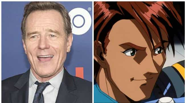 Bryan Cranston is listed (or ranked) 1 on the list 18 Times American Celebrities Lent Their Voice To Anime