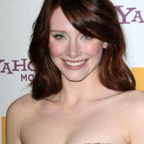 Bryce Dallas Howard is listed (or ranked) 16 on the list Famous Tisch School Of The Arts Alumni