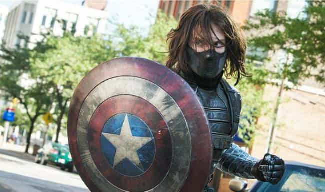 Bucky Barnes is listed (or ranked) 4 on the list Fan Theories About Phase 4 Of The MCU