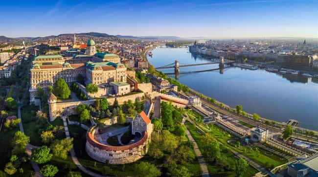 Budapest is listed (or ranked) 2 on the list The Most Beautiful Cities in Europe