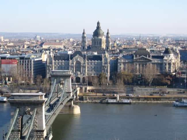 Budapest is listed (or ranked) 1 on the list The Most Beautiful Cities in Europe