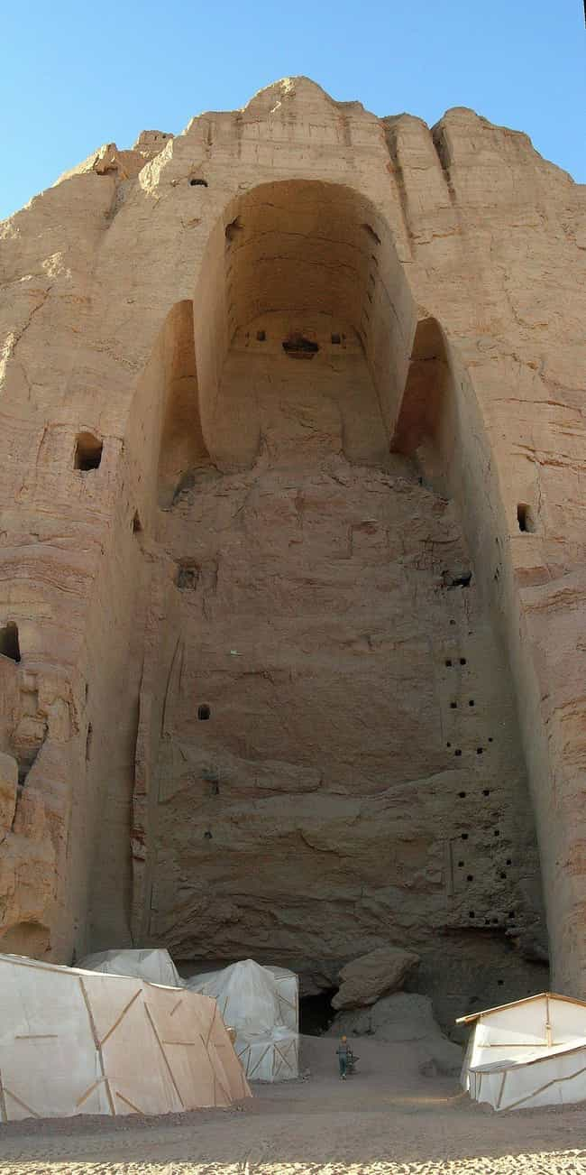 Buddhas of Bamiyan is listed (or ranked) 4 on the list The Most Beautiful Historical Artifacts Destroyed By Terrorists Around The World