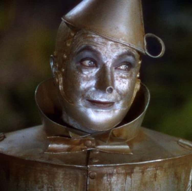 Buddy Ebsen Almost Suffocated From His Tin Man Makeup