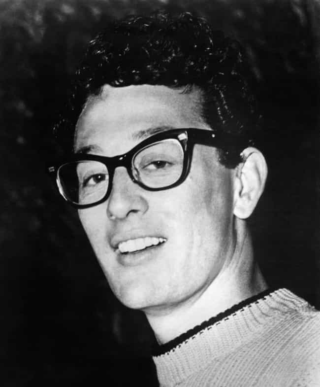 Buddy Holly is listed (or ranked) 4 on the list 20 Otherworldly Curses in the Music Industry