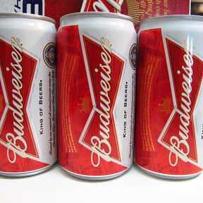 Budweiser is listed (or ranked) 5 on the list The Best American Domestic Beers