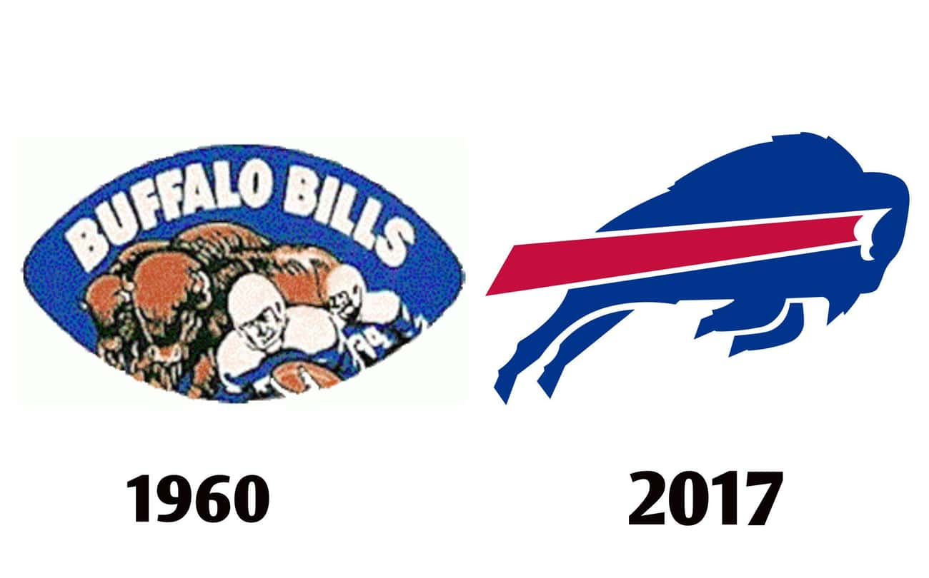 Buffalo Bills is listed (or ranked) 3 on the list The Fascinating Evolution Of Sports Team Logos