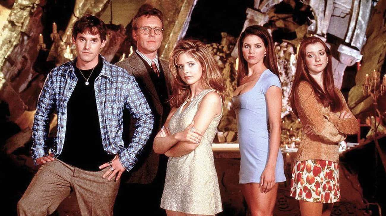 Buffy The Vampire Slayer is listed (or ranked) 2 on the list American TV Shows That Would Make Amazing Anime Series