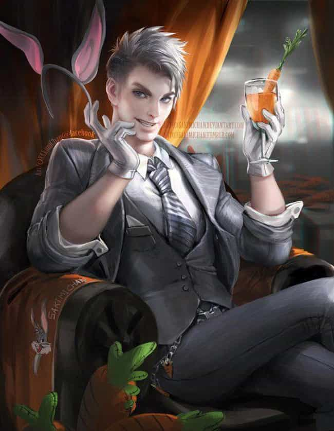 21 non human characters reimagined as humans