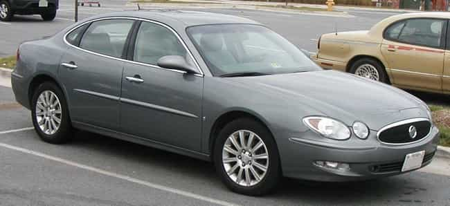 Buick LaCrosse is listed (or ranked) 3 on the list The Best Cars For Senior Citizens