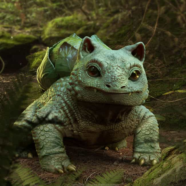 Bulbasaur is listed (or ranked) 3 on the list This Artist Created 3D Pokemon Renders That Will Blow You Away