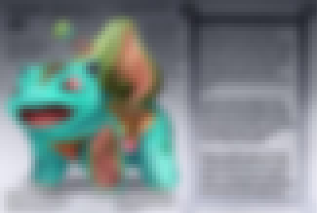 Bulbasaur is listed (or ranked) 3 on the list 25 Pieces of Hyper-Detailed Pokemon Anatomy Fan Art