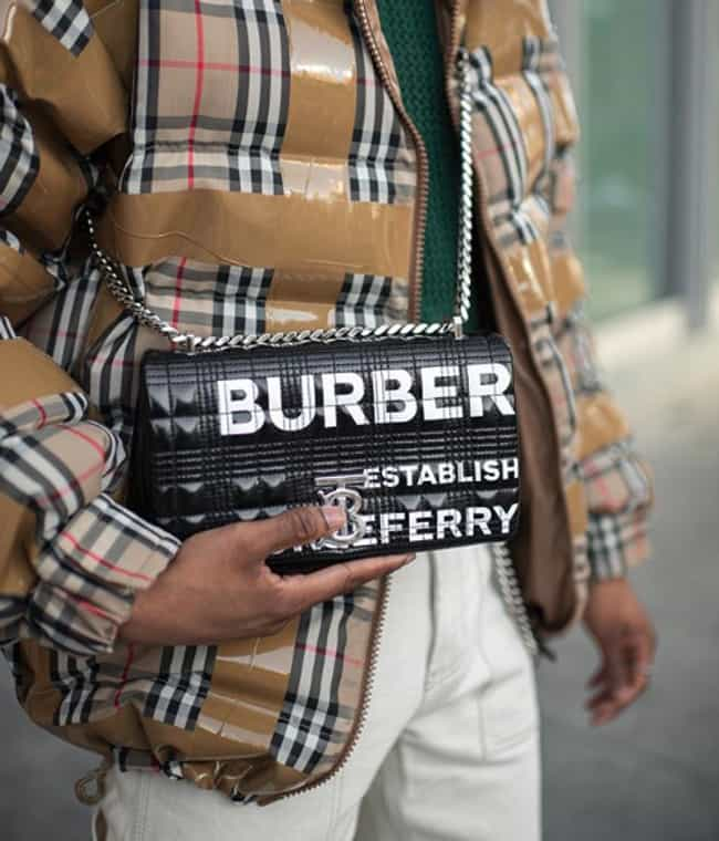 Burberry is listed (or ranked) 4 on the list The Top Fashion Designers for Men
