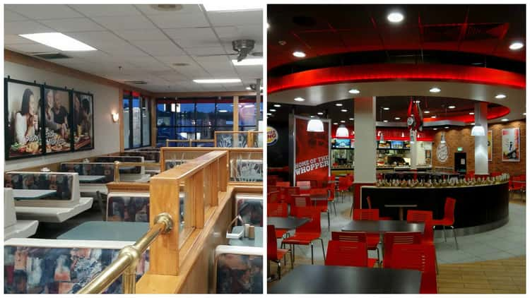 Burger King: '90s vs. Present Day