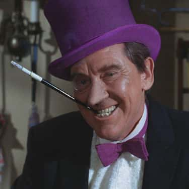 Burgess Meredith is listed (or ranked) 1 on the list Every Actor Who's Played (Or Voiced) The Penguin, Ranked