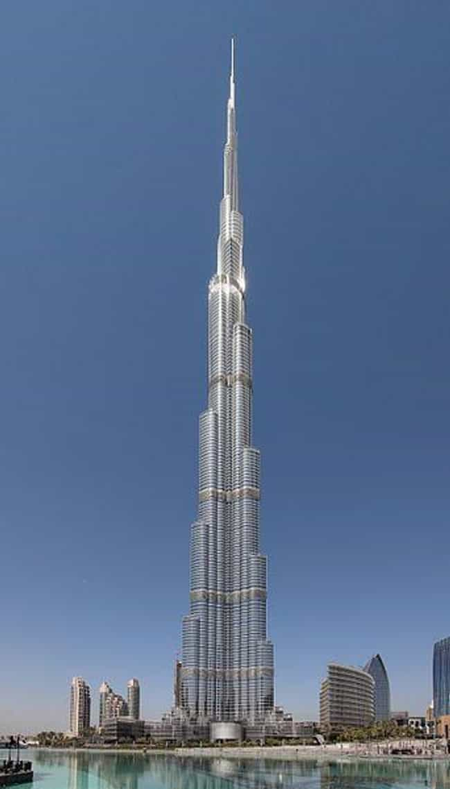Burj Khalifa is listed (or ranked) 1 on the list The Tallest Buildings in the World