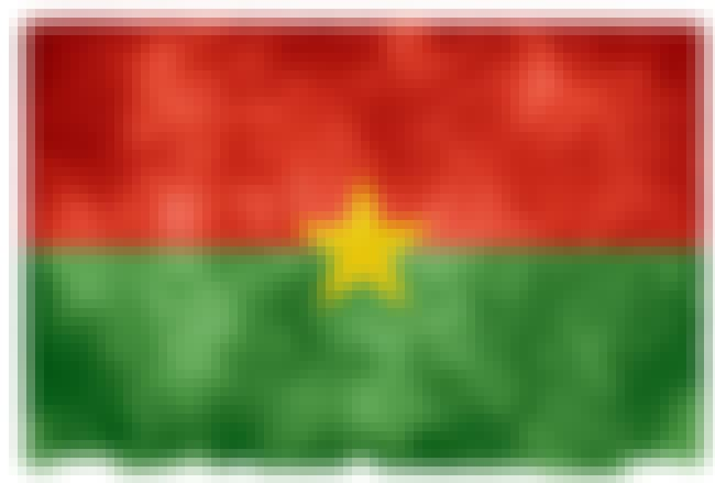 Burkina Faso is listed (or ranked) 5 on the list The Countries In Africa