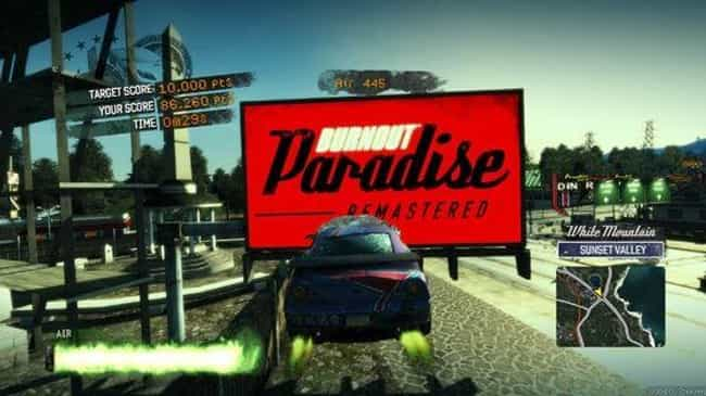Burnout Paradise is listed (or ranked) 8 on the list What's The Most Enjoyable Thing To Collect In A Video Game?
