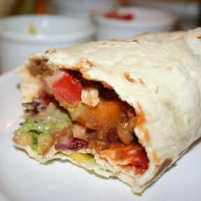 Burrito is listed (or ranked) 9 on the list If You Could Only Eat One Food for the Rest of Your Life...