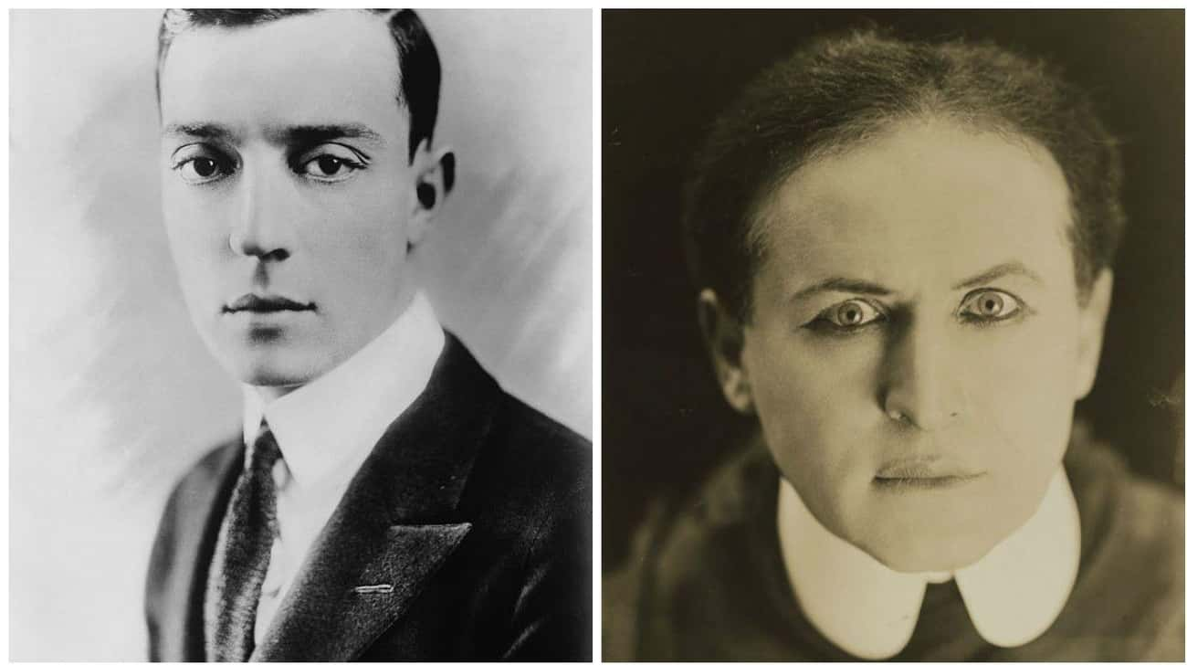 Buster Keaton And Harry Houdin is listed (or ranked) 2 on the list 13 Extremely Unexpected Friendships Between Historical Figures