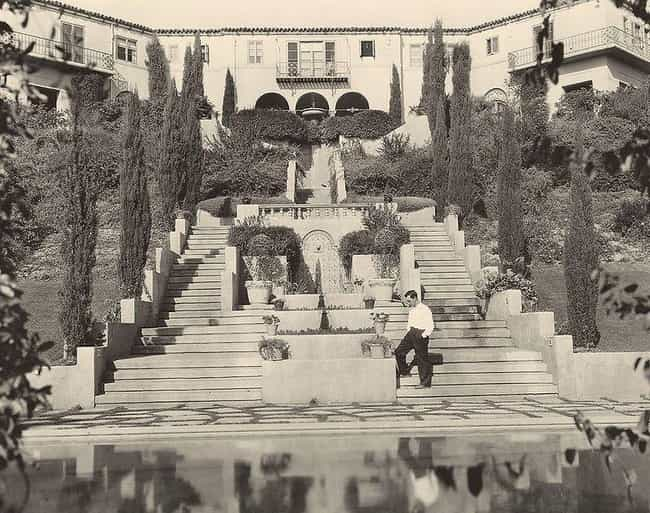 Buster Keaton is listed (or ranked) 1 on the list The Most Unbelievable Old Hollywood Estates