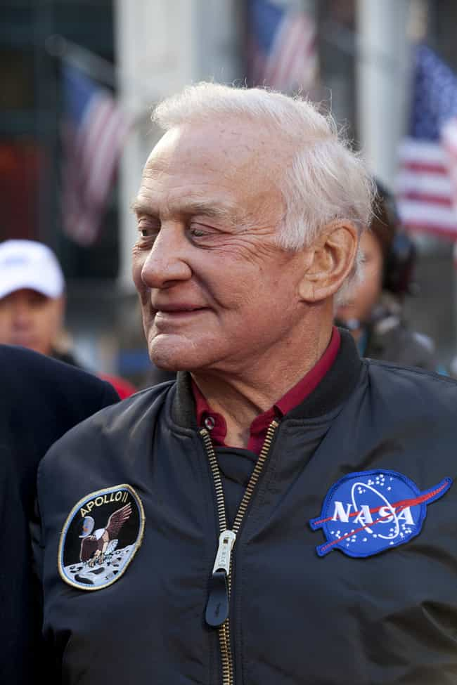 Buzz Aldrin is listed (or ranked) 3 on the list Celebrities Turning 90 In 2020