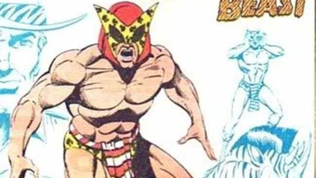 B'wana Beast is listed (or ranked) 1 on the list The Absolute Worst Superhero Costumes Ever