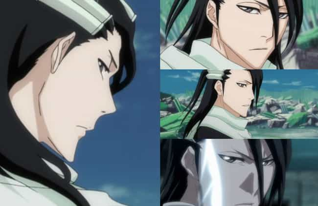 Byakuya Kuchiki is listed (or ranked) 3 on the list Anime Characters With The Least Expressive Faces