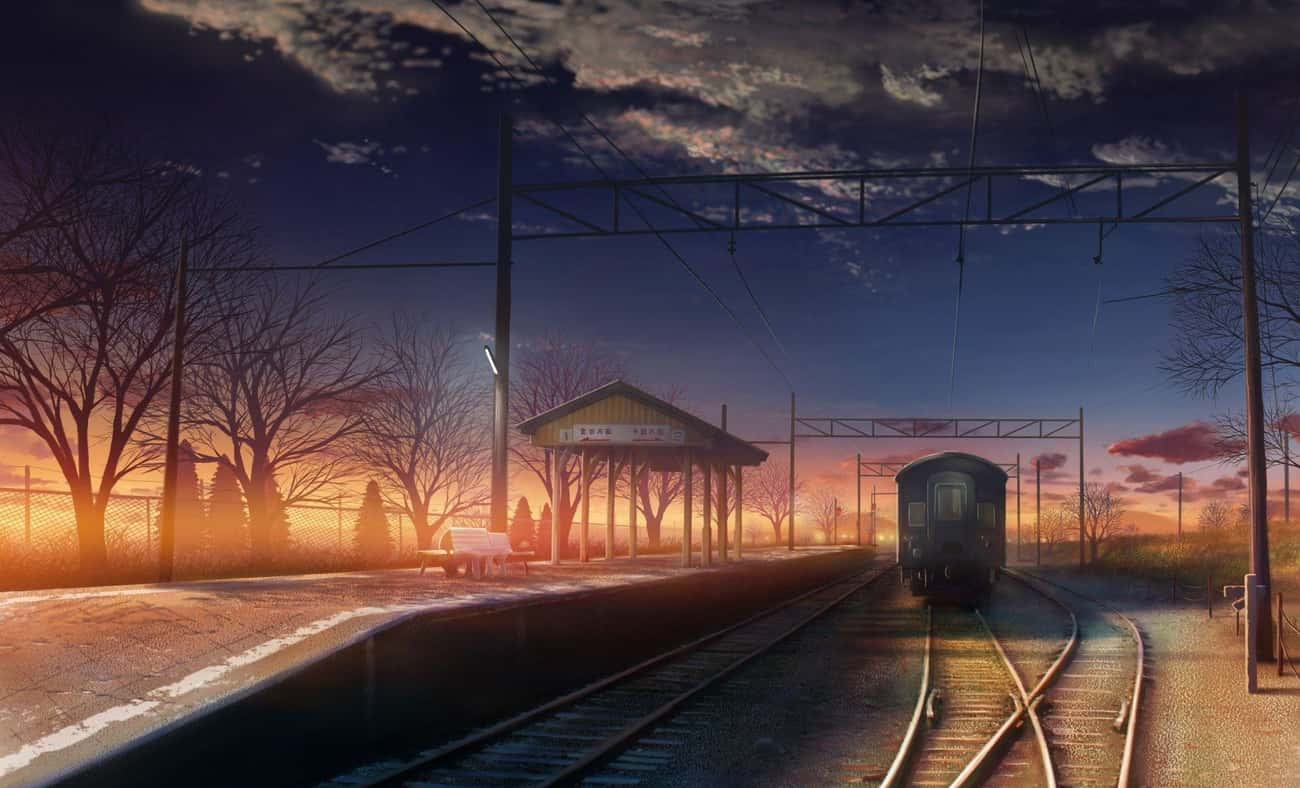 5 Centimeters Per Second is listed (or ranked) 1 on the list Anime With The Most Gorgeous Train Station Scenes