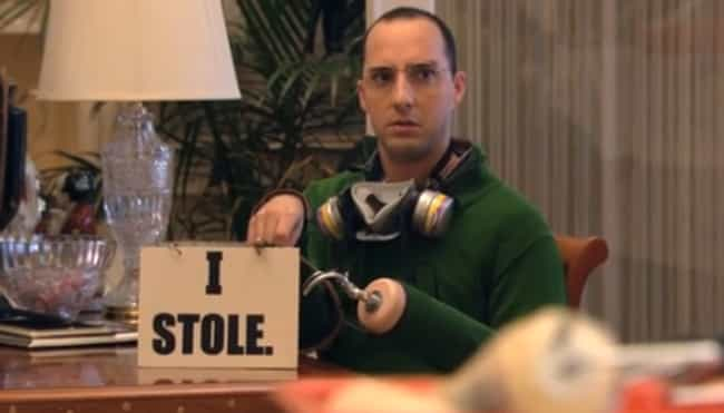 "Byron ""Buster""... is listed (or ranked) 3 on the list Which 'Arrested Development' Character Are You Based On Your Zodiac?"