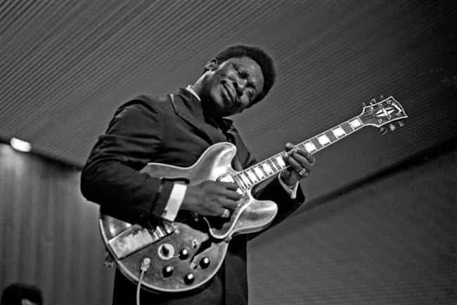 B.B. King is listed (or ranked) 4 on the list Real Names of Famous Blues Guitarists & Singers