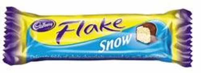 Cadbury Snowflake is listed (or ranked) 3 on the list Popular Candy Sold in United Kingdom