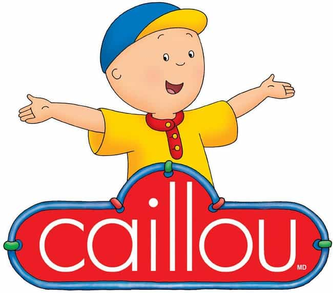 Caillou is listed (or ranked) 3 on the list 14 Ludicrously Well-Thought-Out Fan Theories About Shows For Children