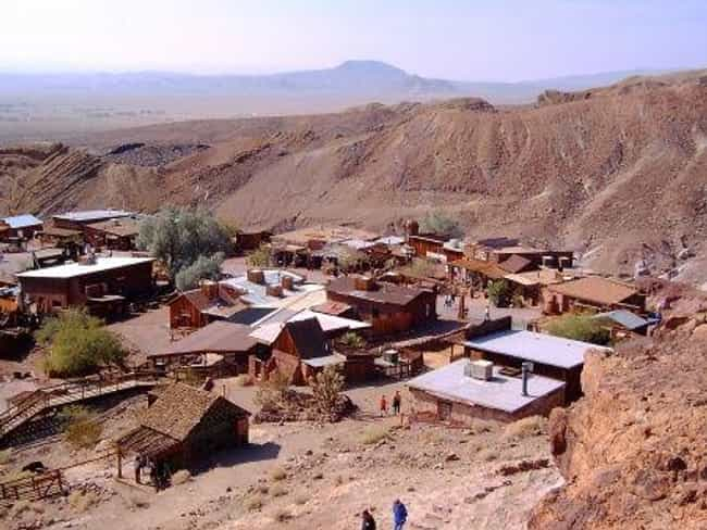 Calico is listed (or ranked) 2 on the list America's Coolest Ghost Towns