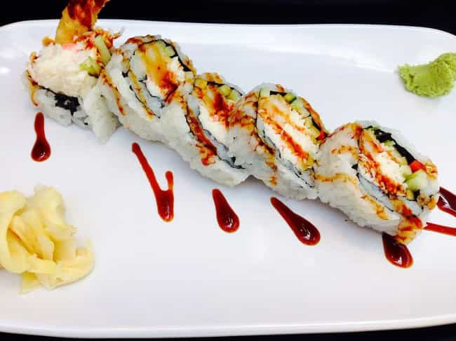California roll is listed (or ranked) 2 on the list The Most Delicious Types of Sushi Rolls