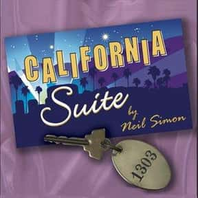 California Suite is listed (or ranked) 6 on the list Neil Simon Plays