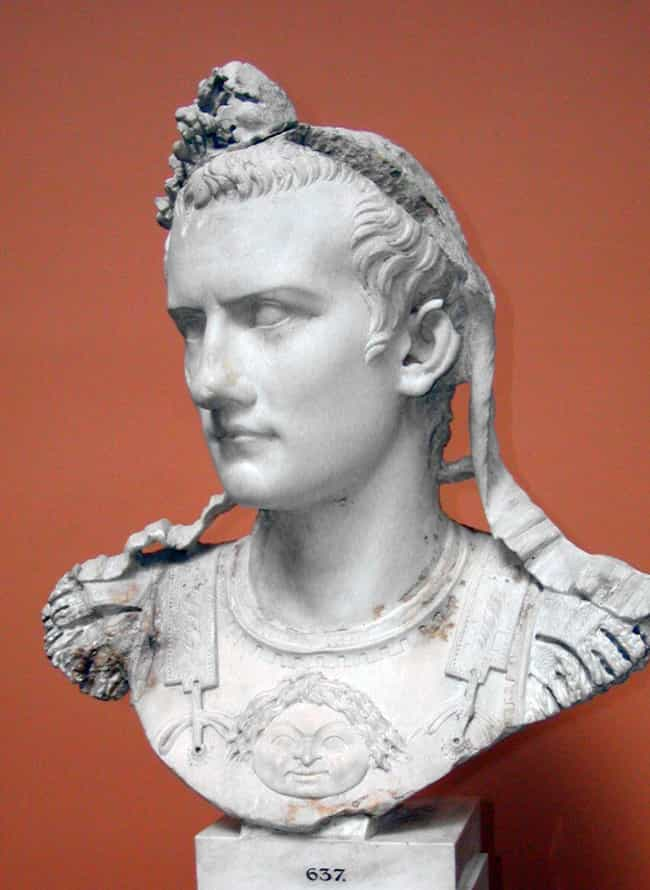 Caligula is listed (or ranked) 4 on the list Sadistic Rulers From Ancient History