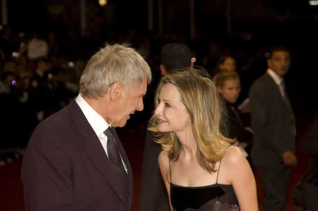 Calista Flockhart is listed (or ranked) 1 on the list The Complete Dating History Of Hollywood Ladies' Man Harrison Ford