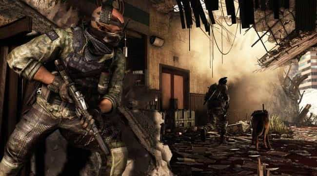 Call of Duty is listed (or ranked) 1 on the list What Your Favorite Video Games Say About You, According To Science