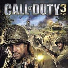 Call of Duty 3 is listed (or ranked) 15 on the list The Best Video Games Set In WW2