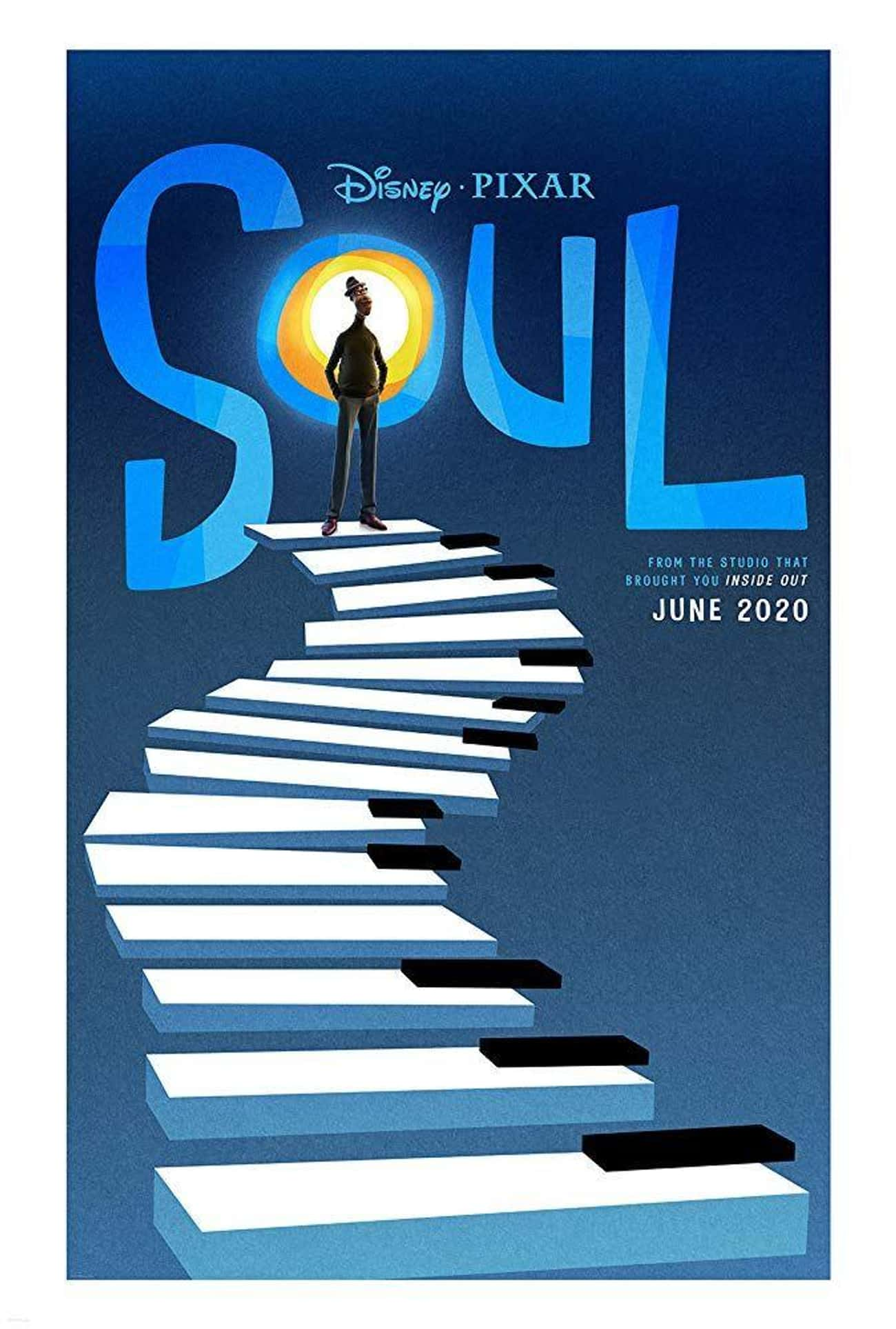 Soul is listed (or ranked) 4 on the list The Coolest Movie Posters For 2020 Films