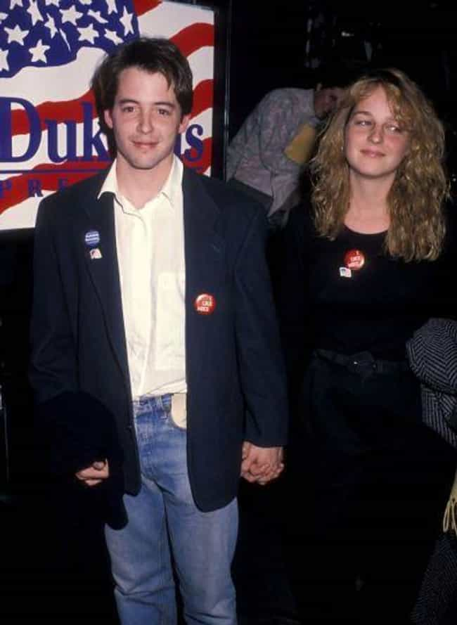 Helen Hunt is listed (or ranked) 3 on the list Matthew Broderick's Loves & Hookups