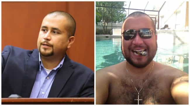George Zimmerman is listed (or ranked) 3 on the list Accused Murderers: Where Are They Now?