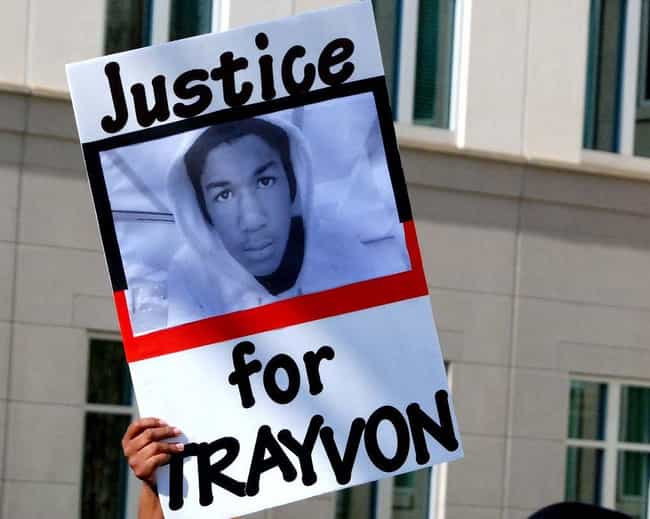 Trayvon Martin is listed (or ranked) 2 on the list 15 Famous Child Murder Victims That Were International News