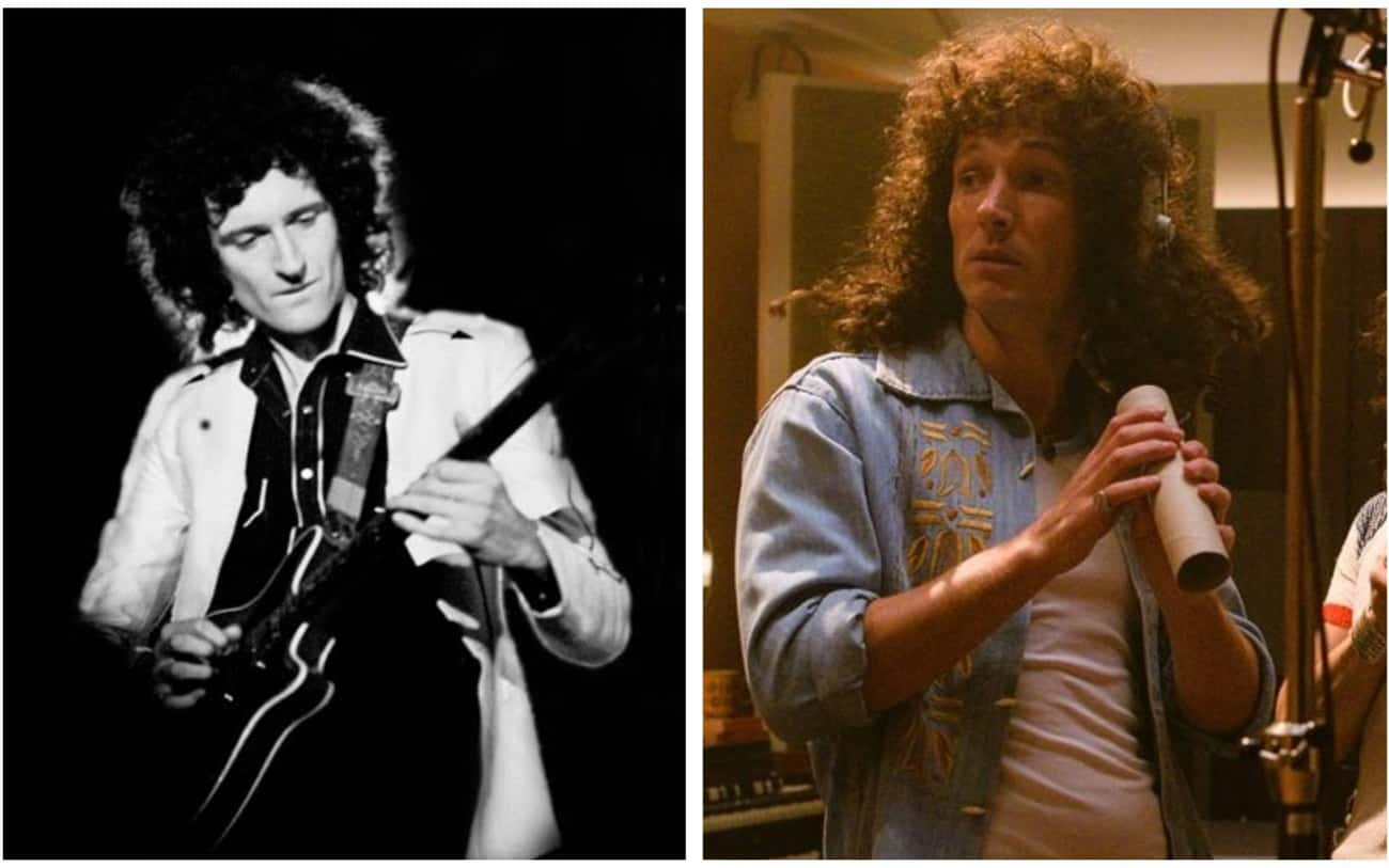 Brian May - Gwilym Lee is listed (or ranked) 1 on the list 'Bohemian Rhapsody' Actors Vs. The Real People They Play