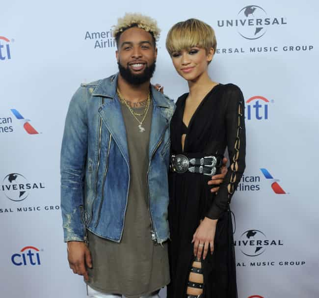 Odell Beckham Jr. is listed (or ranked) 3 on the list Zendaya Loves and Hookups