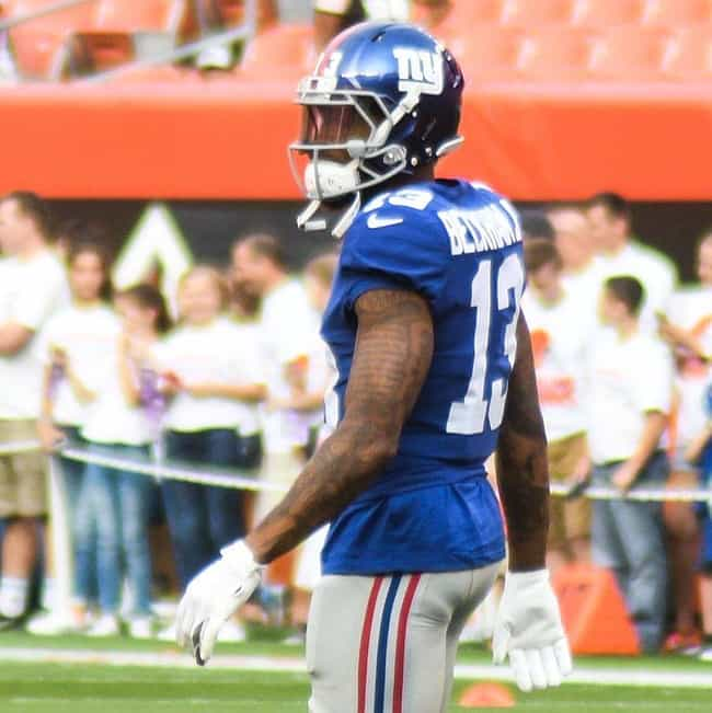 Odell Beckham Jr. is listed (or ranked) 3 on the list The Best Athletes Who Wore #13
