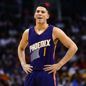 Devin Booker is listed (or ranked) 16 on the list The Most Clutch Players In The NBA Right Now